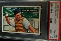 1951 Bowman - Clyde McCullough - #94 - PSA 8 - NM-MT