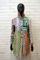 DESIGUAL Cappotto Donna Taglia 38 XS Trench Jacket Women Giacca Jacke Etnica