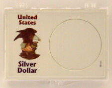 U.S. Silver Dollar, 2X3 Snap Lock Coin Holders, 3 pack