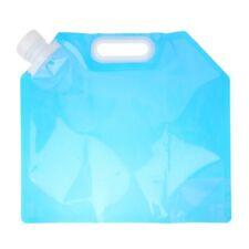 5L Portable Water Bag Camping Folding Water Storage Lifting Carrying Bag Drinkin