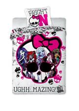 Monster High Uni Bettwäsche 160x200 ÖkoTex Baumwolle FRIGHT ON!UGHH...MAZING NEU
