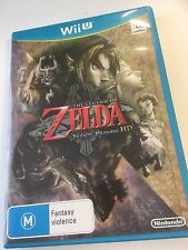 * NINTENDO WII U New Game * THE LEGEND OF ZELDA - TWILIGHT PRINCESS HD * Aus