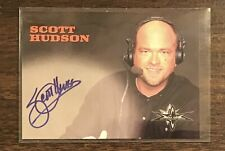 Scott Hudson Topps WCW autograph card 1998 1999 auto