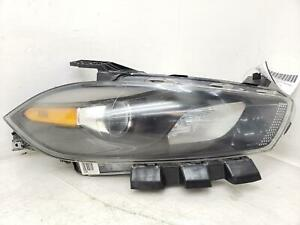 2013-2016 DODGE DART RIGHT FRONT HEADLIGHT LAMP HALOGEN W/ BLACK OEM 2014 2015