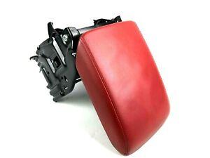 Audi A5 8T Interior Center Console Red Leather Armrest Arm Rest Unit 8K0864283