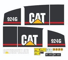 Caterpillar 924G Wheel Loader ( 1998 ) Decals / Stickers ( Complete Set )