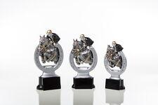 3 Pokale Figuren Reitsport Reiten  mit Gravuren