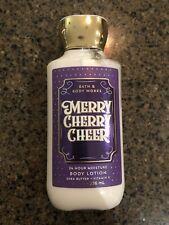 Bath & Body Works Merry Cherry Cheer Body Lotion 8 oz 2019 limited edition