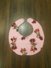 Sweet As Can Be- Minnie Mouse Baby Bib-Free Shipping!