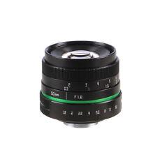 Mirrorless 50mm F1.8 C-Mount Lens For Canon EOS EF 80D 7D 60D 600D 750D