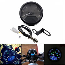 LCD Digital Speedometer Tachometer Gear Indicator Speed Sensor Moto ATV 12000RM