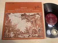 Monteux Vienna Phil Berlioz Symphony Fantastique LP RCA Victrola STEREO EX!!!