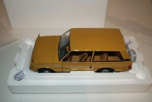 Almost Real 1/18 Scale ALM81010 Range Rover 1970 Bahama Gold Mint condition