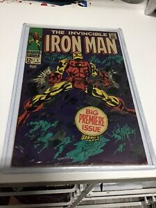 Iron Man 1, 1968, silver age comic