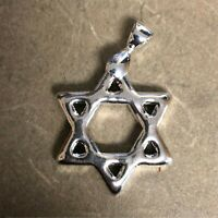 1 oz 999 Silver Bullion Bar by YPS Yeager's Poured Silver - Hexagram with Bail