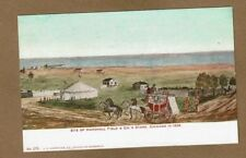Chicago,IL Illinois, Site of Marshall Field Store, in 1839 Hammon #275