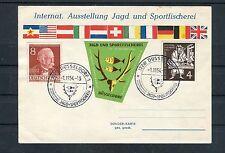 Karte Internat. Ausstellung Jagd und Sportfischerei MiF Bund/Berlin - b3015