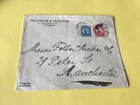 Sweden Goteborg  Vintage Stamps Cover Ref 53802