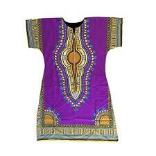 Afrikanische Afrika Dashiki Tribal Hippie Locker Für Damen Kleid Einheitsgröße