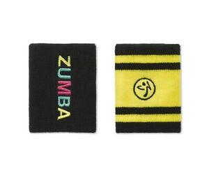 ZUMBA WEAR - Bright Bold Zumba Wristbands 2pk - BOLD BLACK