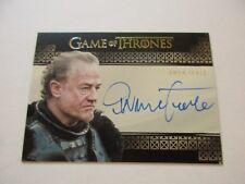 Game of Thrones Valyrian Steel Owen Teale as Ser Alliser Thorne VS Autograph