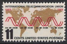 Scott 1274- International Telecommunication Union- MNH 11c 1965- unused mint