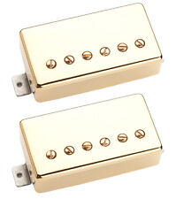 Seymour Duncan SH-1 '59 Neck / SH-16 59/Custom Hybrid set gold 4 conductor NEW