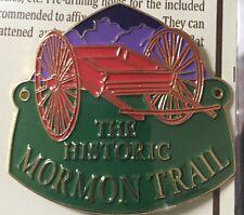 Historic Mormon Trail Hiking Staff Stick Medallion NEW Goes On Walking Stick