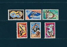 Tchad  animaux protection de la nature de 1965 num: 104/09  **