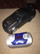 Disney Ridemakerz Ford Mustang Matte Black Custom Rc Radio Control Car 2007 (Bh)