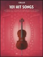 101 Hit Songs for Cello Sheet Music Book Snow Patrol Katy Perry Lady Gaga