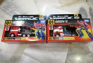 Takara Tomy Transformers 35th Convoy & Optimus (Set of 2)