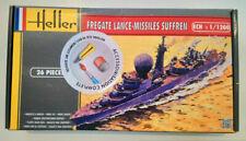 HELLER REF. 49033 - FREGATE LANCE-MISSILES SUFFREN - MAQUETTE A MONTER - 1/1200