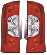 FIAT FIORINO 2008-> 2 REAR DOORS REAR TAIL LIGHT LAMPS LEFT & RIGHT PAIR