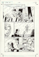 Titan AE #3 page 5, Original Comic Art by Al Rio, Dark Horse, Disney, Aliens
