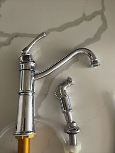 Moen Kitchen Faucet and Sprayer Chrome finish
