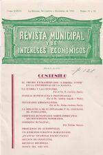 REVISTA MUNICIPAL Y DE INTERESES ECONOMICOS NOV-DEC 1941-CUBAN ECONOMY MAGAZINE