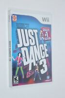 NINTENDO WII ** Just Dance 3 ** BRAND NEW FACTORY SEALED FREE SHIPPING