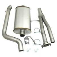 For Hummer H2 03-06 Stainless Steel Cat-Back Exhaust System w Single Rear Exit