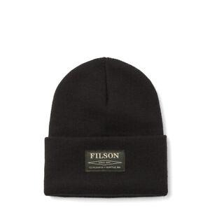 Filson Ballard Watch Cap Black - SALE
