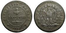 Seconda Repubblica Romana, 4 Baiocchi 1849 Bologna