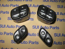 Chevrolet GM Steering Wheel Button Controls Set of 4  NEW