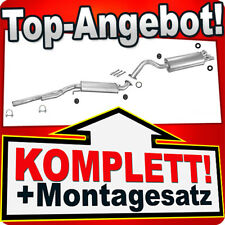 Auspuff AUDI 100 (C4) 2.6 2.8 V6 Stufenheck Kombi Auspuffanlage 020