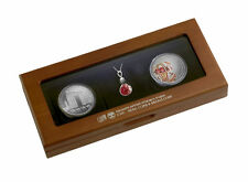 Israel 2015 Desert Jewel Silver Coin Set Commemorative Coins Collectible