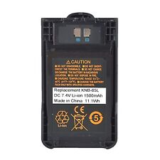 KNB-65L Li-ion Battery For Kenwood TH-K20E TH-K20A TH-K40E Portable Radio