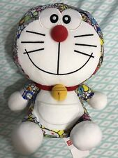 "Doraemon x Takashi Murakami Uniqlo 9.5"" Limited Plush Doll Toy 100% Authentic"
