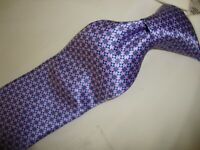 "285.00 NWOT Cnali men's 100% silk made in Italy 62"" EXTRA LONG necktie TIE"