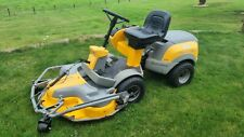 More details for stiga park pro 16 4wd ride on mulching lawn mower