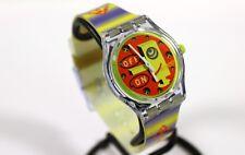 SWATCH original Swiss made MUSICALL SLV100 quartz watch New old stock