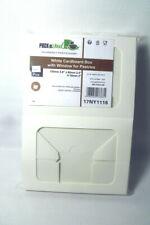 20 PacknWood White Cardboard Box Pastry Window Box 210Cclair Food Packaging